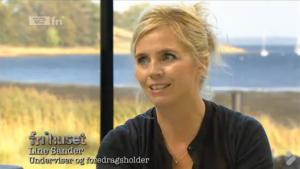 Line Sander i TV2 Fri